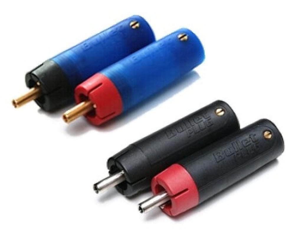 Conector Rca Eti Eichmann Bullet Plug Copper