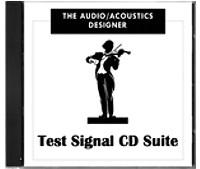 Audio/Acoustics Test 3CD Suite Electroacoustician Designer from Ontario Audio Specialties Ltd