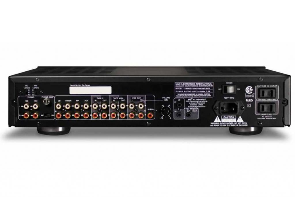 Preamplificator NAD C165BEE