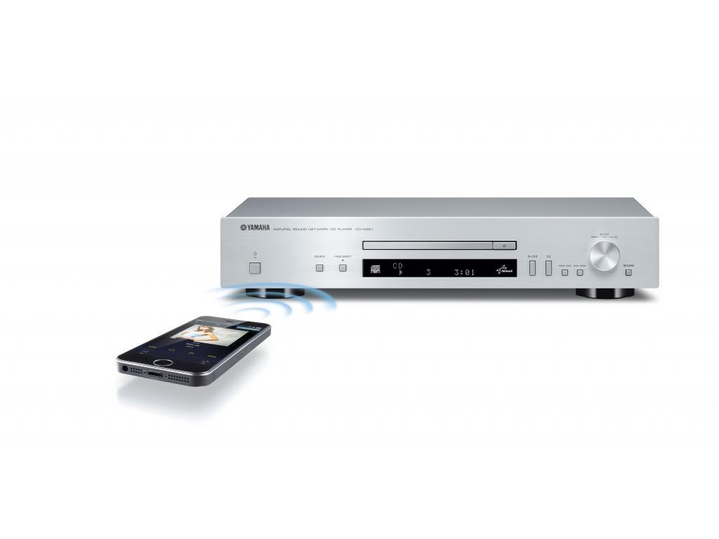 Images CD Player Yamaha CD-N301 Argintiu