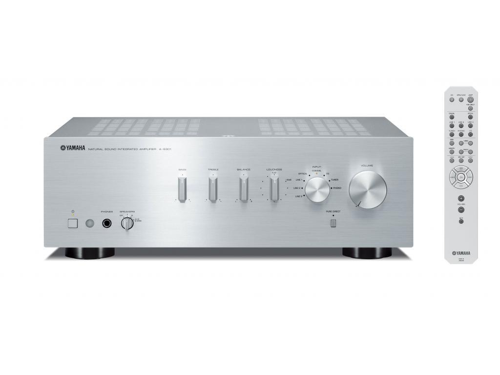 Amplificator Integrat Yamaha A-S301 Argintiu