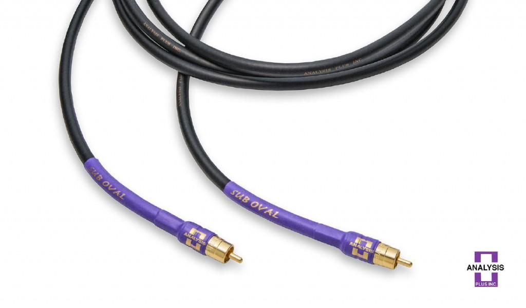 Cablu Subwoofer Analysis Plus Sub Oval 3 Metri