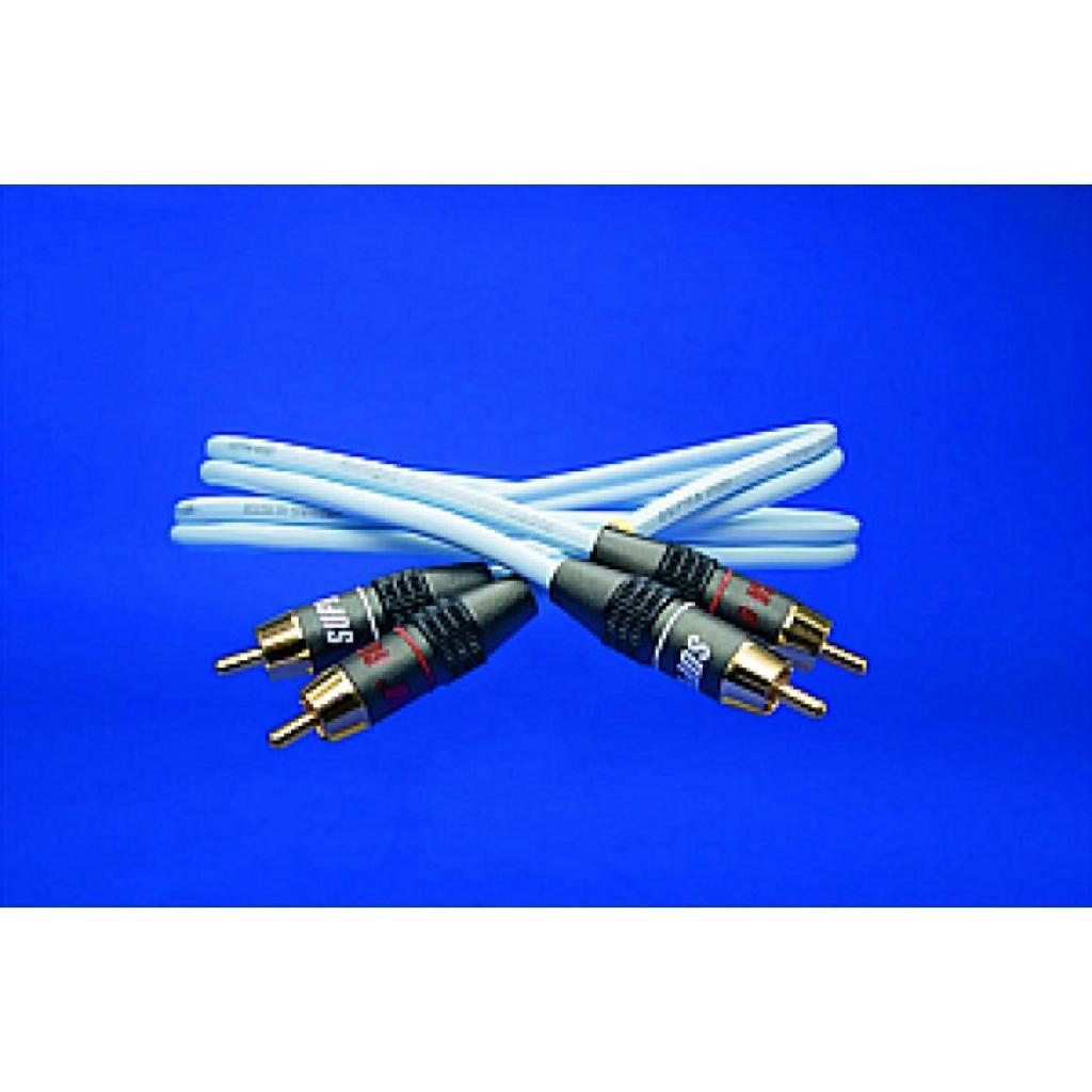 Cablu Interconect Supra Dual-rca 1 Metru