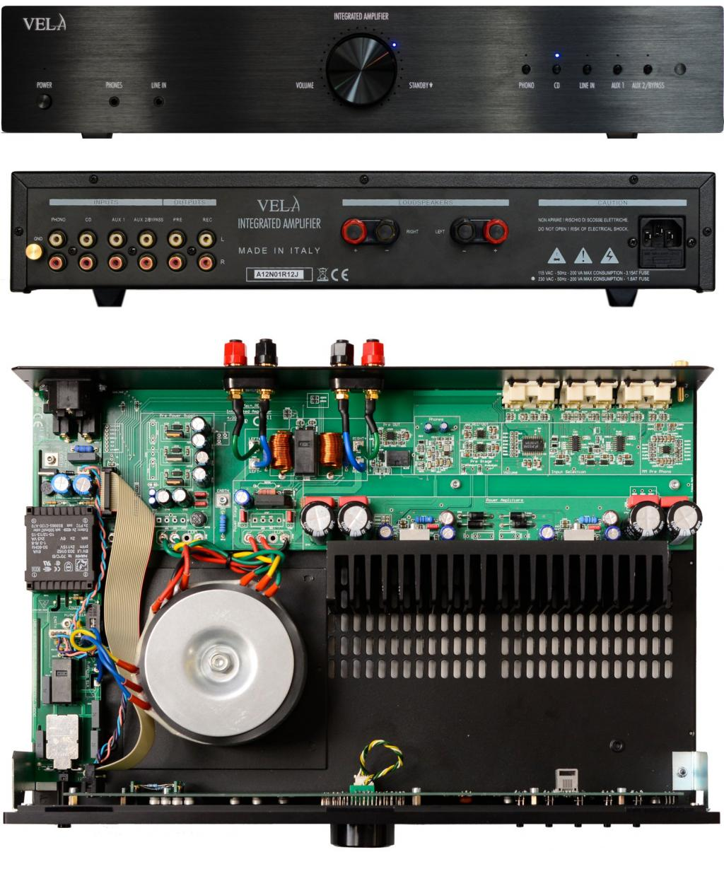 Amplificator Integrat Vela Audio