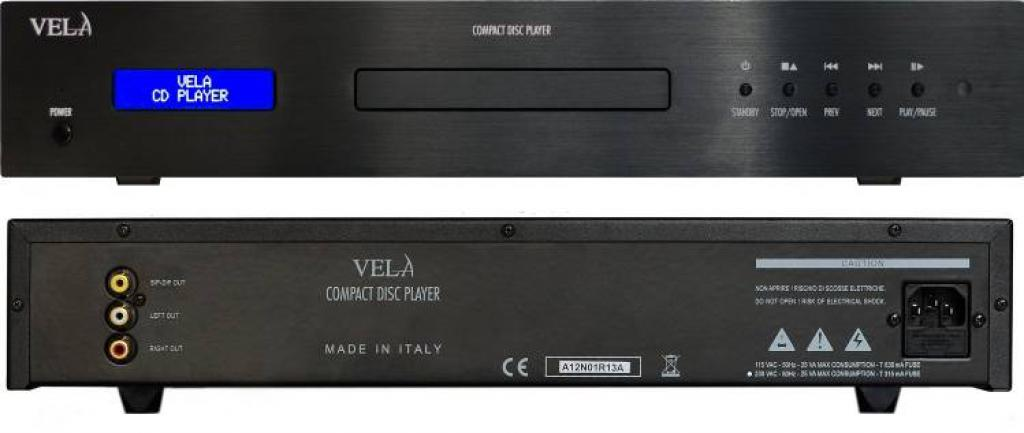 CD Player Vela Audio