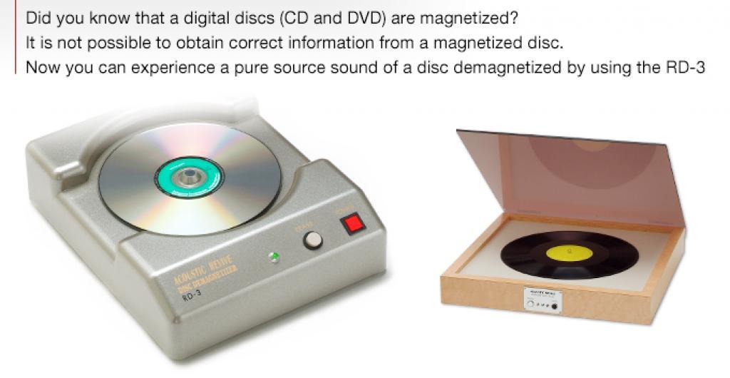 Demagnetizator Acoustic Revive Rd-3