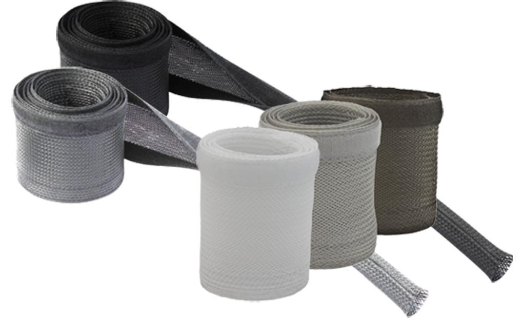 Management Cabluri Din Material Textil Black Conne