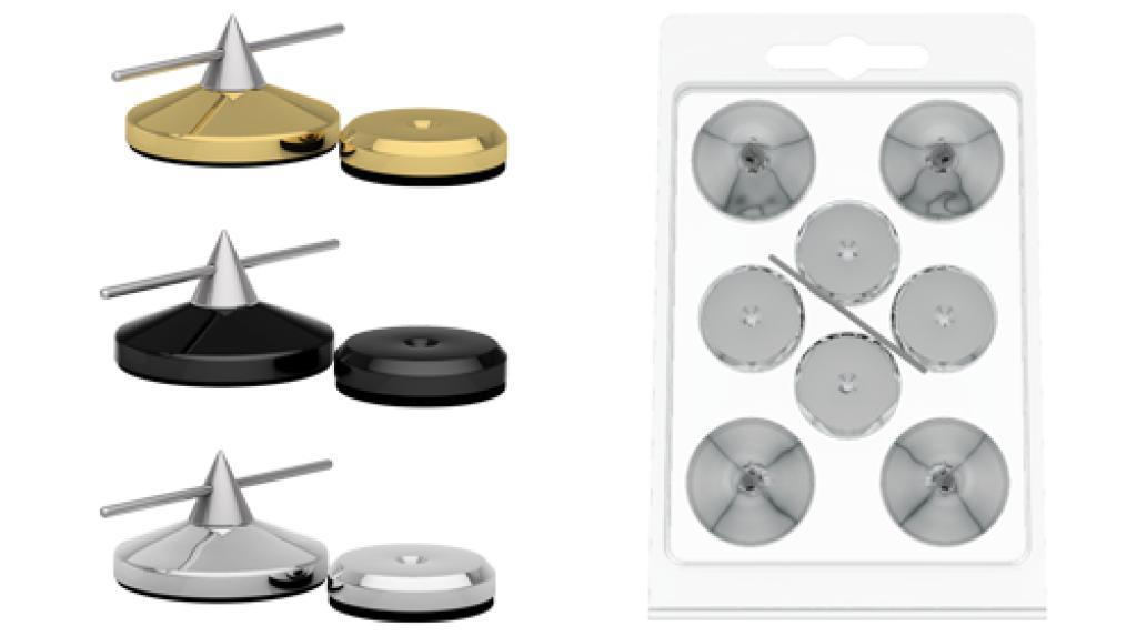 Spike Audio Selection (GoldKabel) Spike Small 8x Argintiu