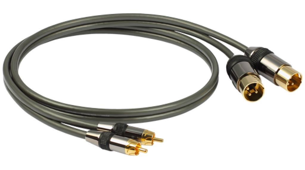 Cablu Interconect Goldkabel Profi Mixed Rca-xlr 3