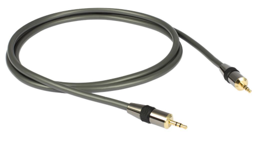 Cablu Jack 3.5mm - Jack 3.5mm GoldKabel Profi 1 metru