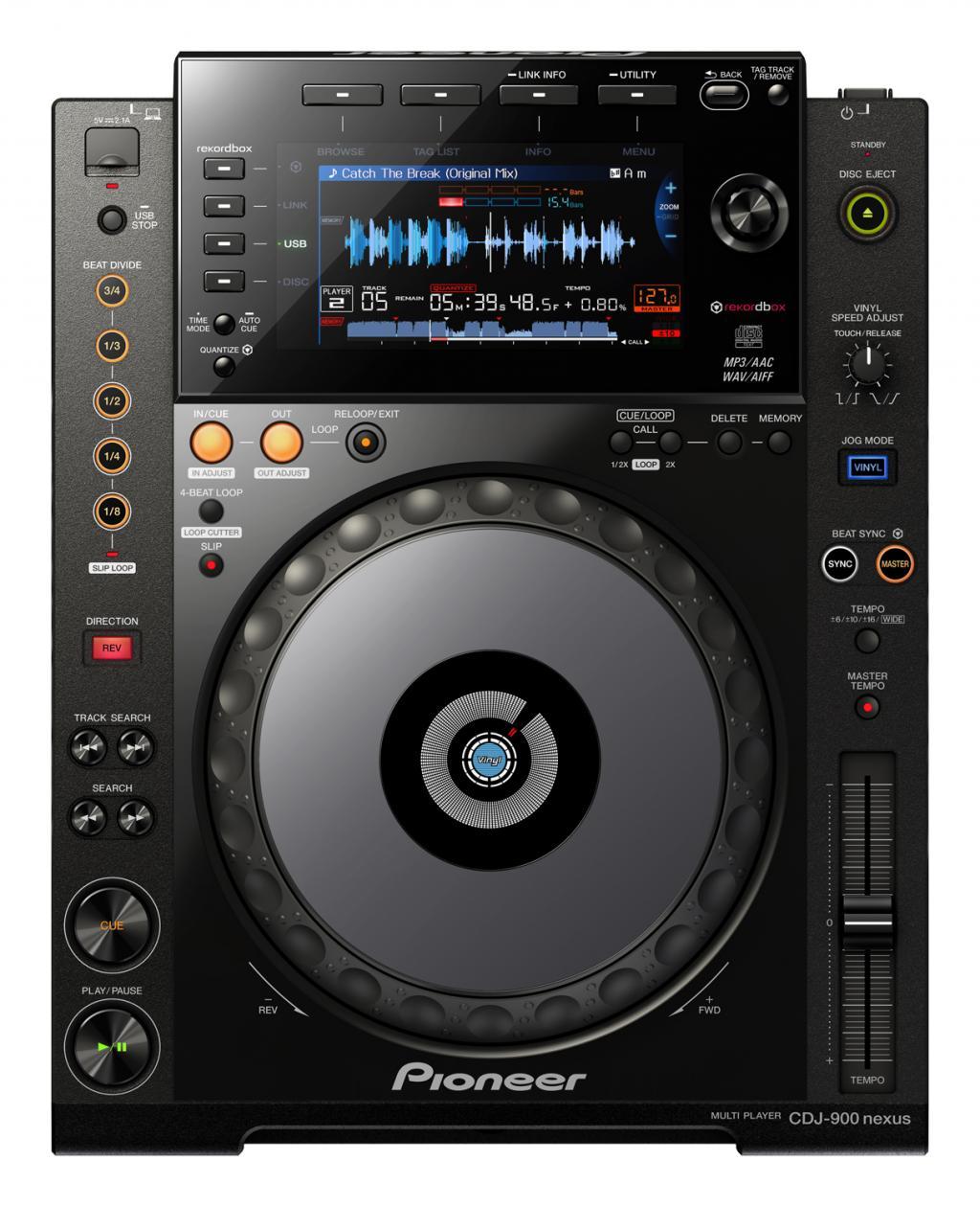 Digital Dj Deck Pioneer Cdj-900nxs
