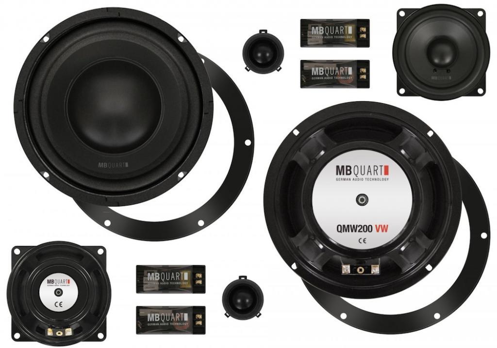 Boxe Auto MB Quart QM-200.3 Golf V