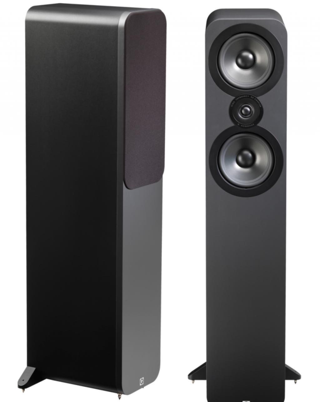 Boxe Q Acoustics 3050 Matte Graphite