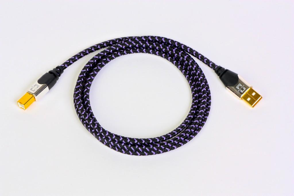 Cablu Usb Analysis Plus Purple Plus 1 Metru