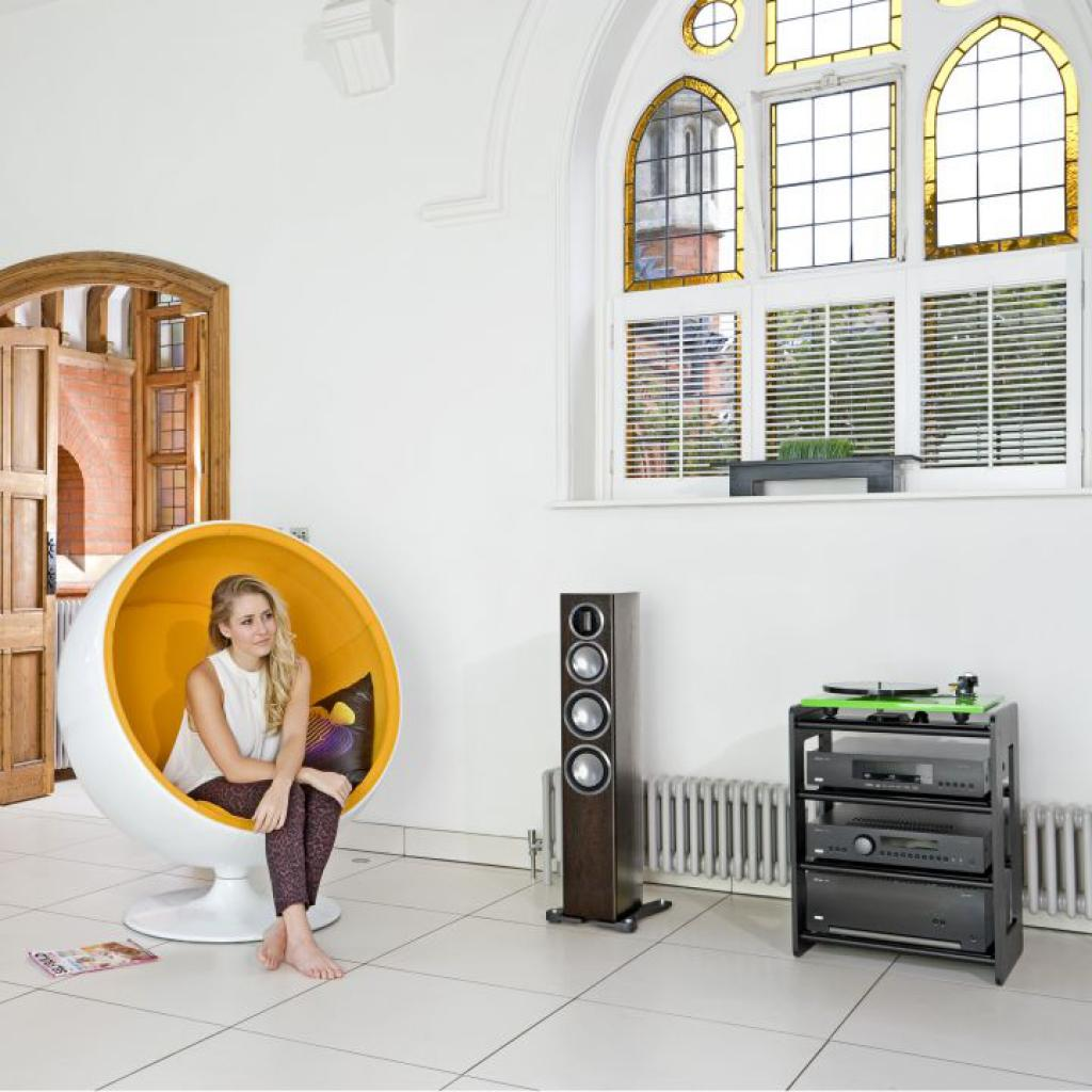 Boxe Monitor Audio Gold 200 Piano White