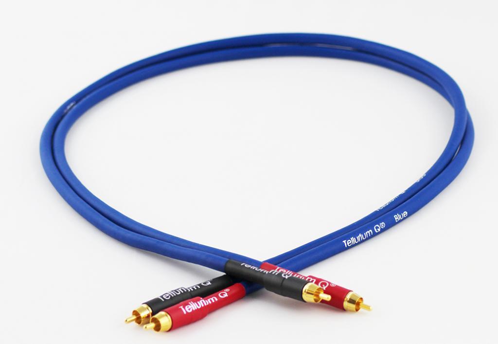 Cablu Interconect Tellurium Q Blue Rca 1 Metru