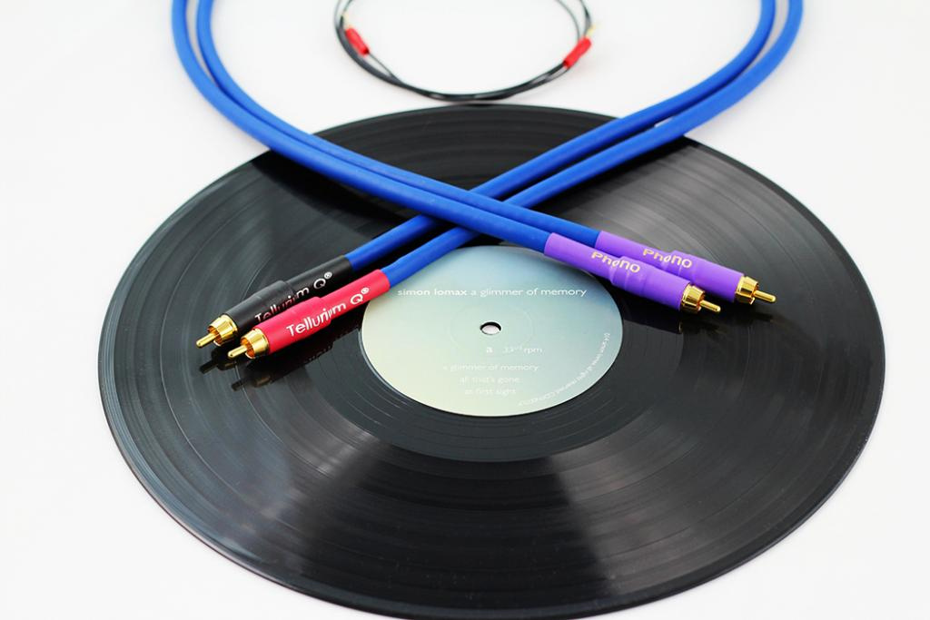 Cablu Interconect Tellurium Blue Turntable Rca 1.5