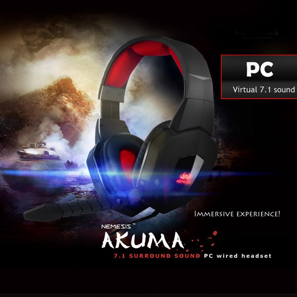 Casti Sumvision Nemesis Akuma PC 7.1