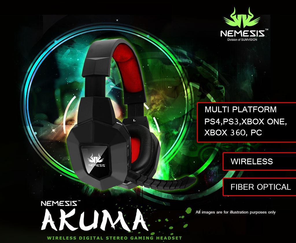 Casti Sumvision Nemesis Akuma Wireless