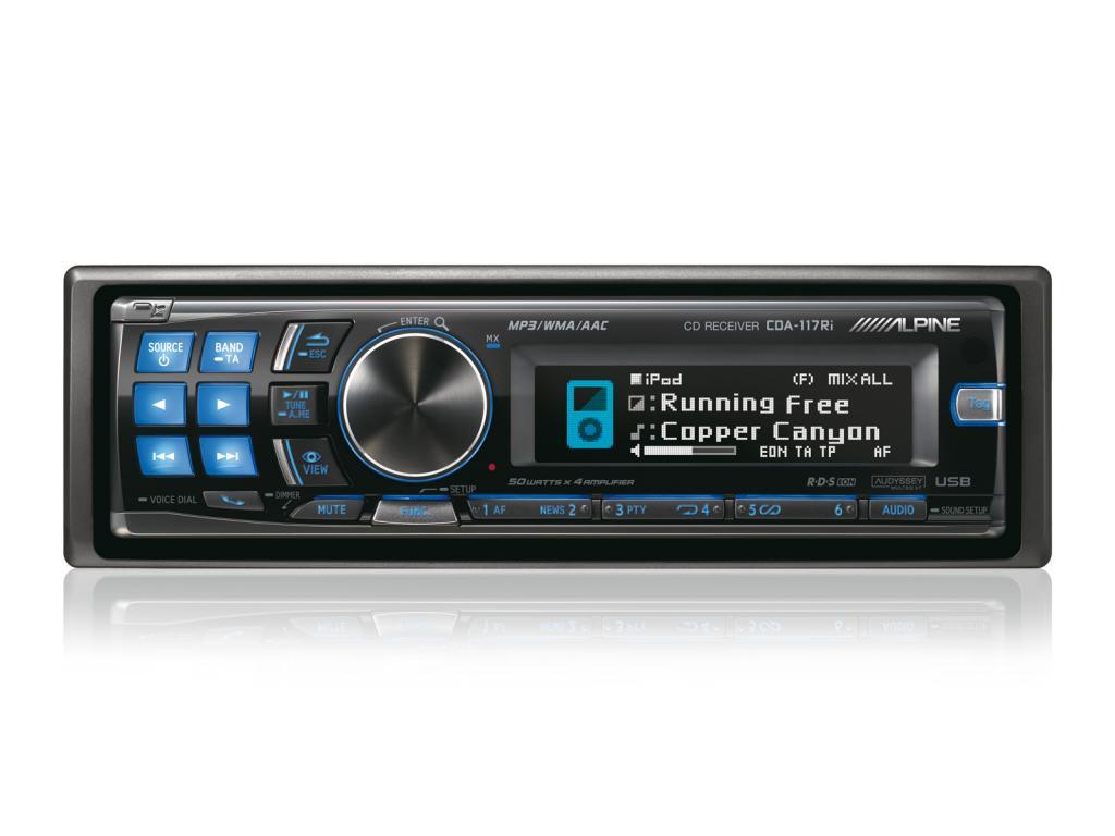 CD Player Auto Alpine CDA-117Ri