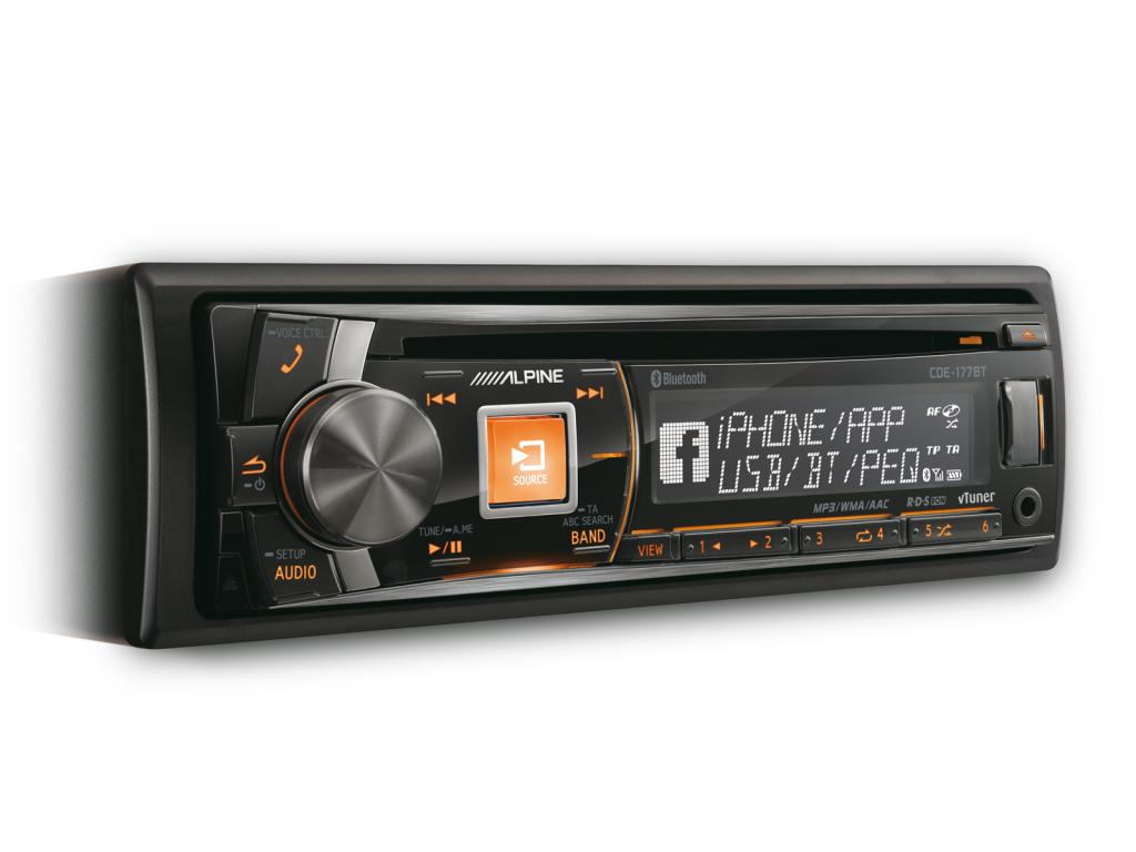 CD Player Auto Alpine CDE-177BT