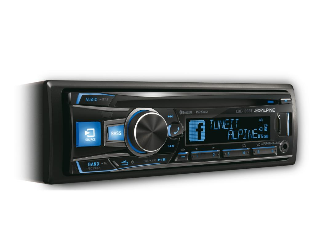 Imagine indisponibila pentru CD Player Auto Alpine CDE-185BT