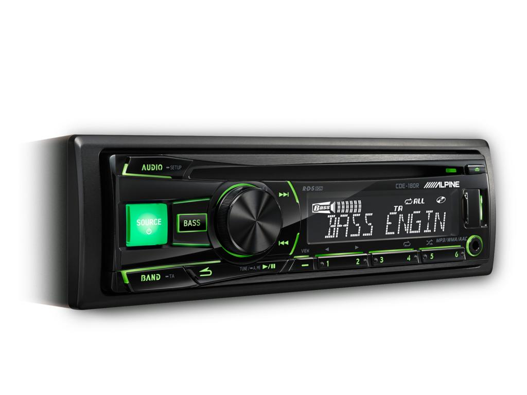 CD Player Auto Alpine CDE-180R_RR_RM