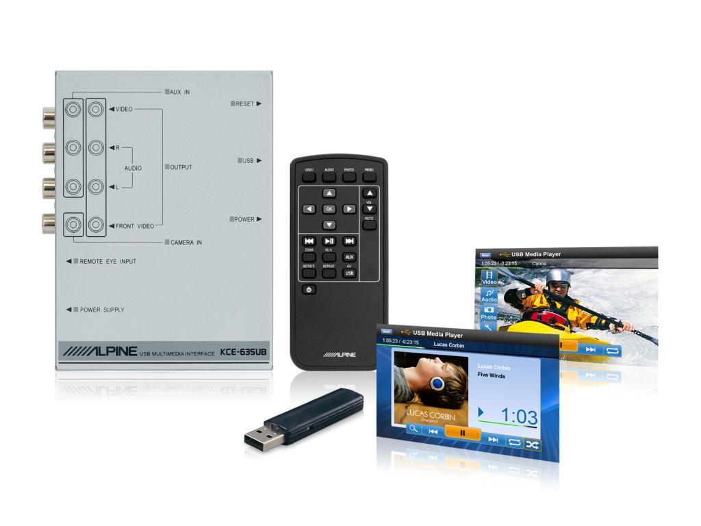 Interfata USB Alpine KCE-635UB