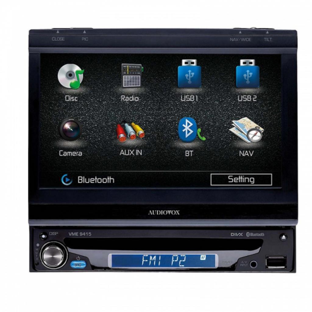 Dvd Auto Audiovox Vme-9415