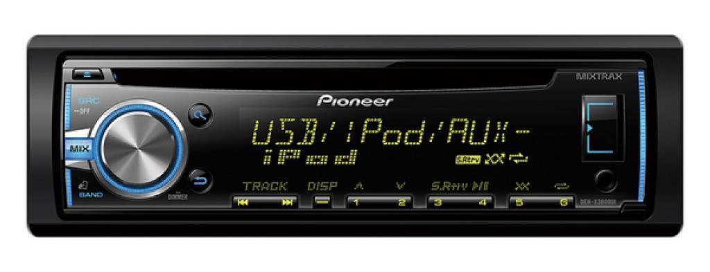 CD Player Auto Pioneer DEH-X3800UI