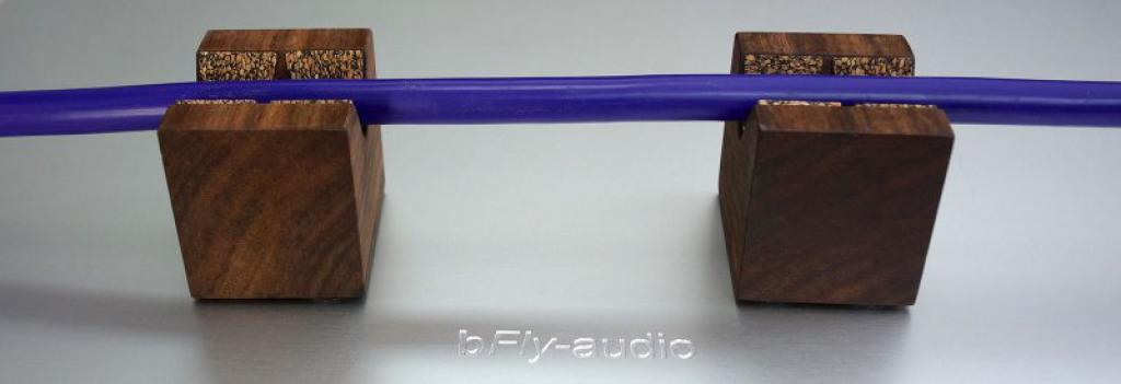 Suport Cabluri Antivibratie bFly Audio Cube Set 6 bucati