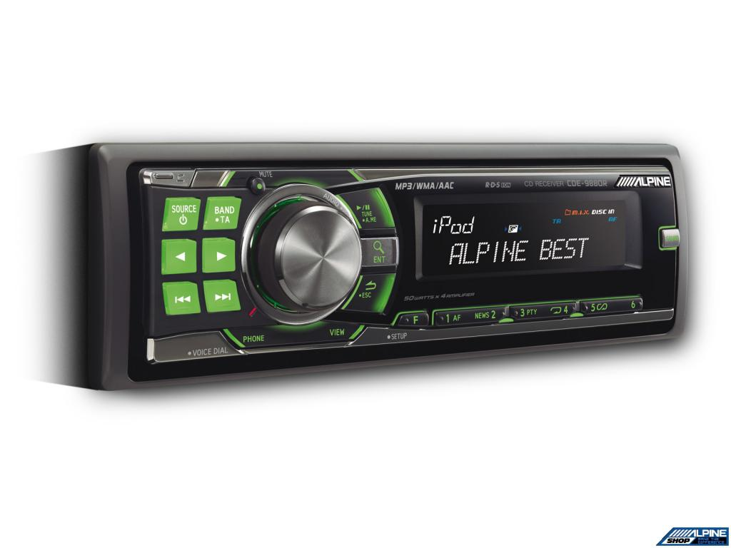 Imagine indisponibila pentru CD Player Auto Alpine CDE-9880R