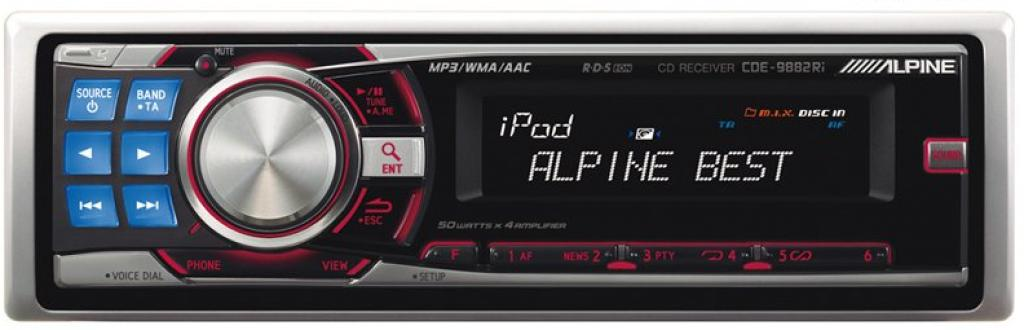 Imagine indisponibila pentru CD Player Auto Alpine CDE-9882RI