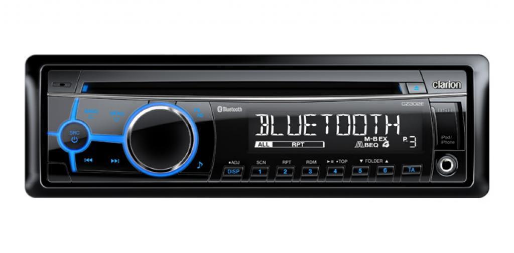 CD Player Auto Clarion CZ-302E