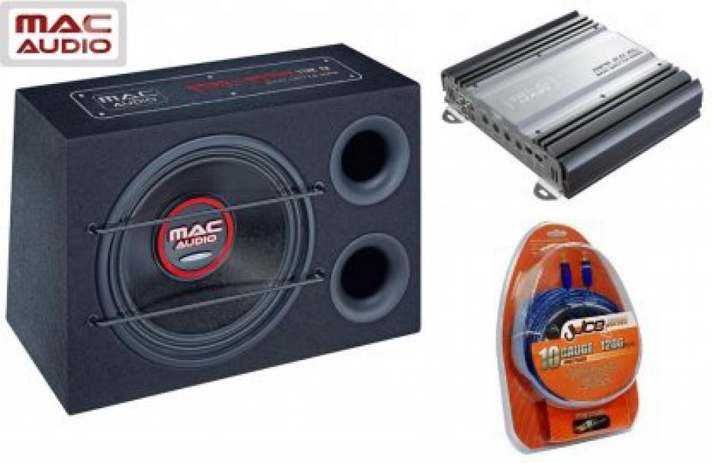 Pachet Auto Mac Audio Bass Leader Reflex Pack