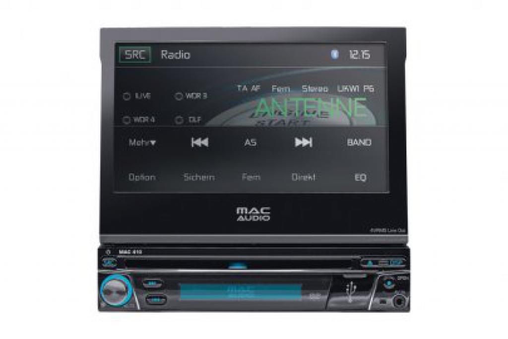 DVD Player Auto Mac Audio MAC 410