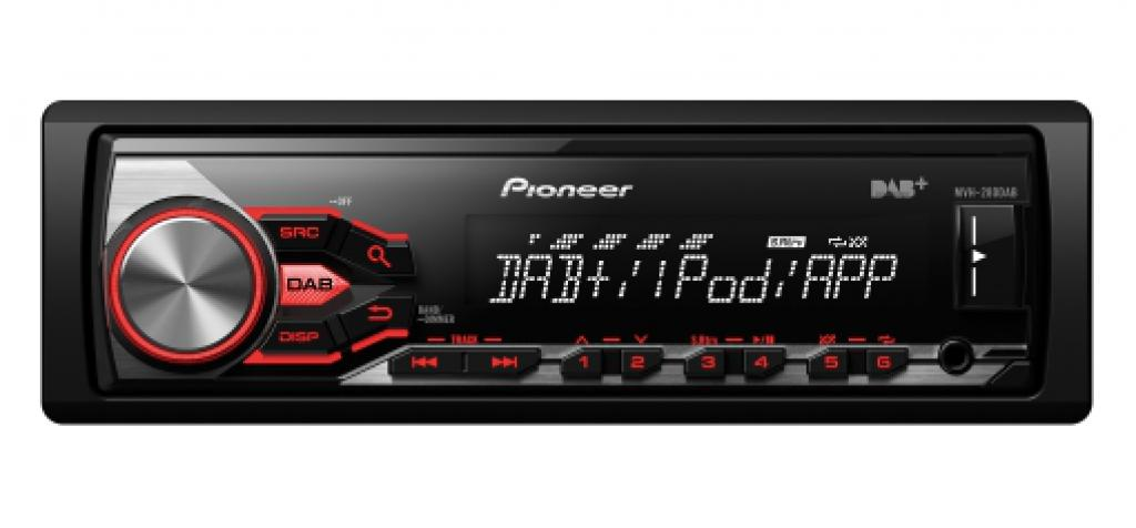 Player Auto Pioneer MVH-280DAB