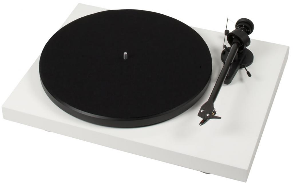 Pick-Up Pro-Ject Debut Carbon (DC) cu Ortofon OM 10 White