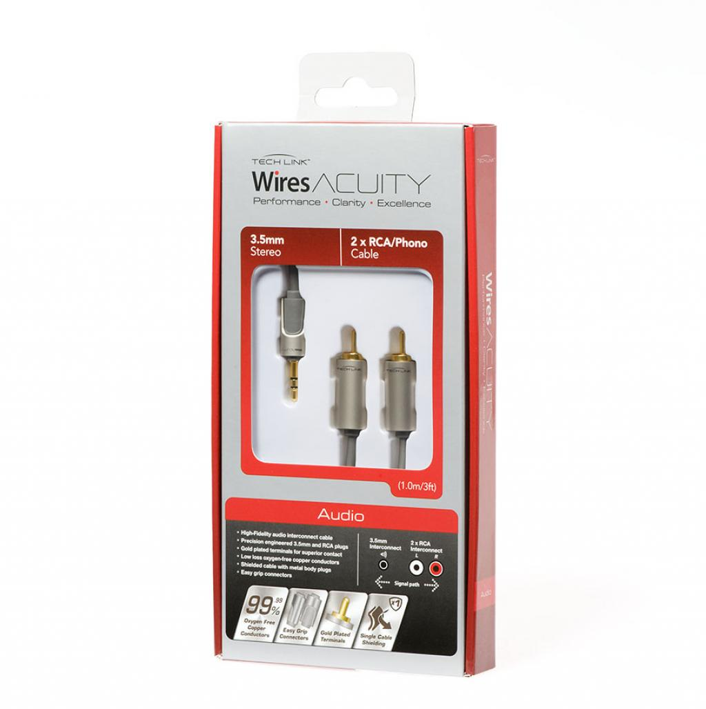 Imagine indisponibila pentru Cablu Jack 3.5mm - RCA TechLink WiresAcuity 1 metru