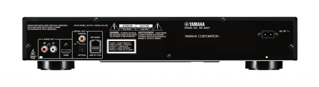BluRay Player Yamaha BD-S681