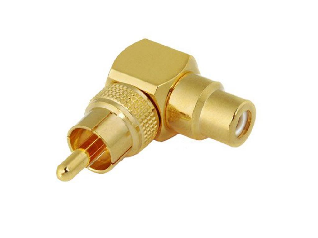 Conector Adaptor Rca-rca Kacsa Audio Rp-57g