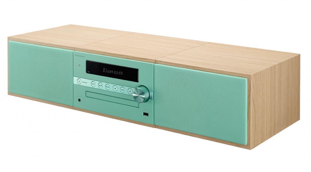 Sistem Stereo Pioneer X-CM56 Verde