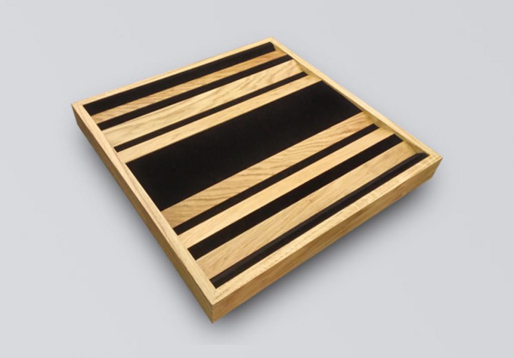 Panou Fonoabsorbant Sonitus 6 Strip Natural Oak