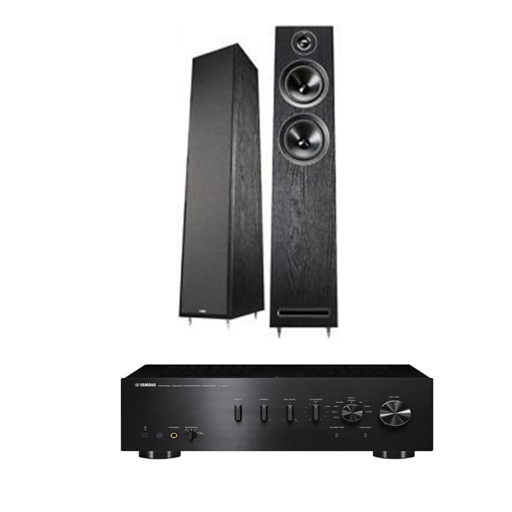 Pachet Amplificator Integrat Yamaha A-S701 + Boxe Acoustic Energy 103 desigilat