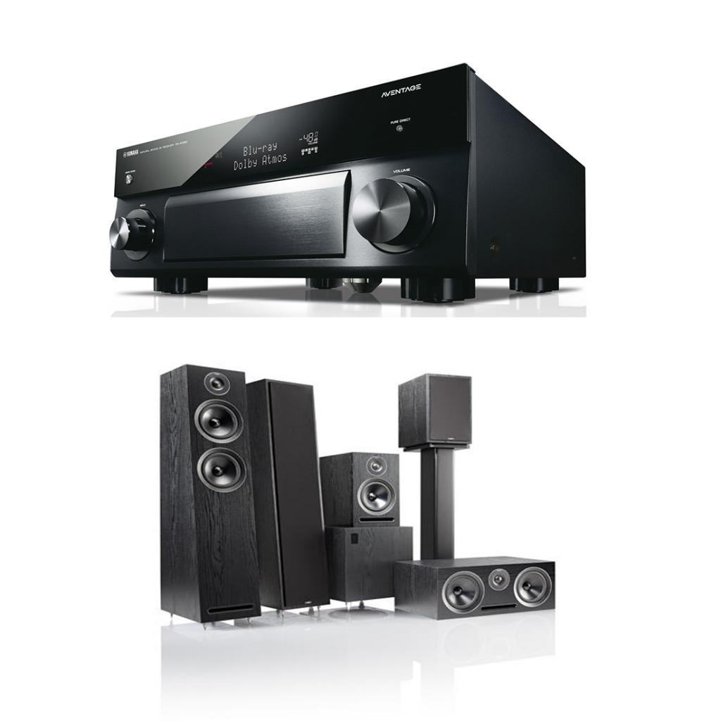 Pachet Receiver Av Yamaha Musiccast Rx-a1060 + Box