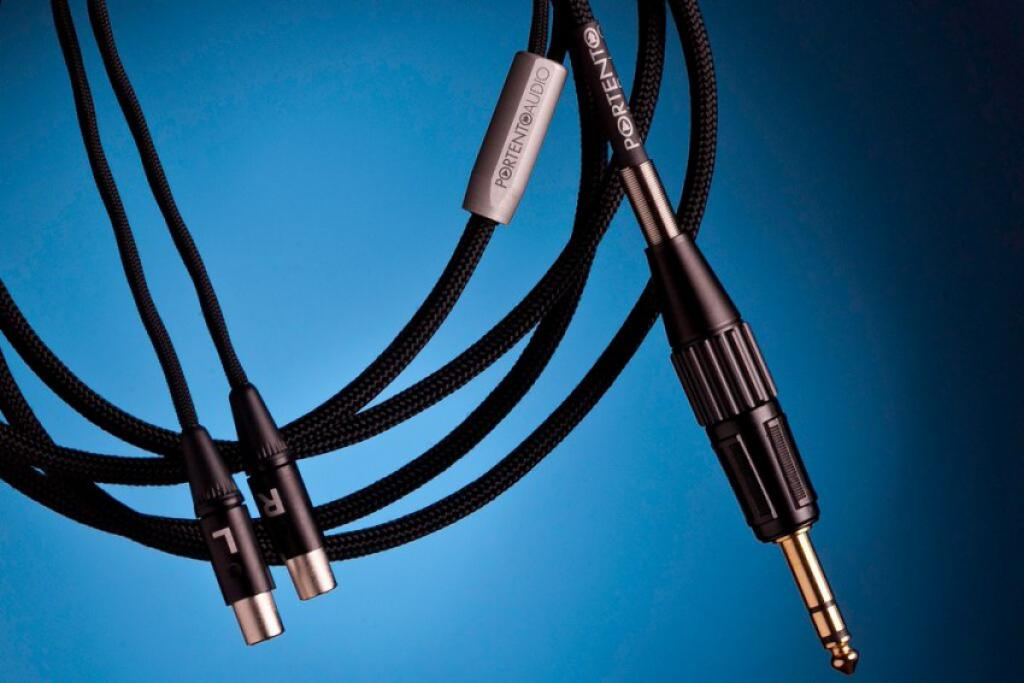 Cablu Jack 6.3mm Portento Audio pentru Audeze 5 metri