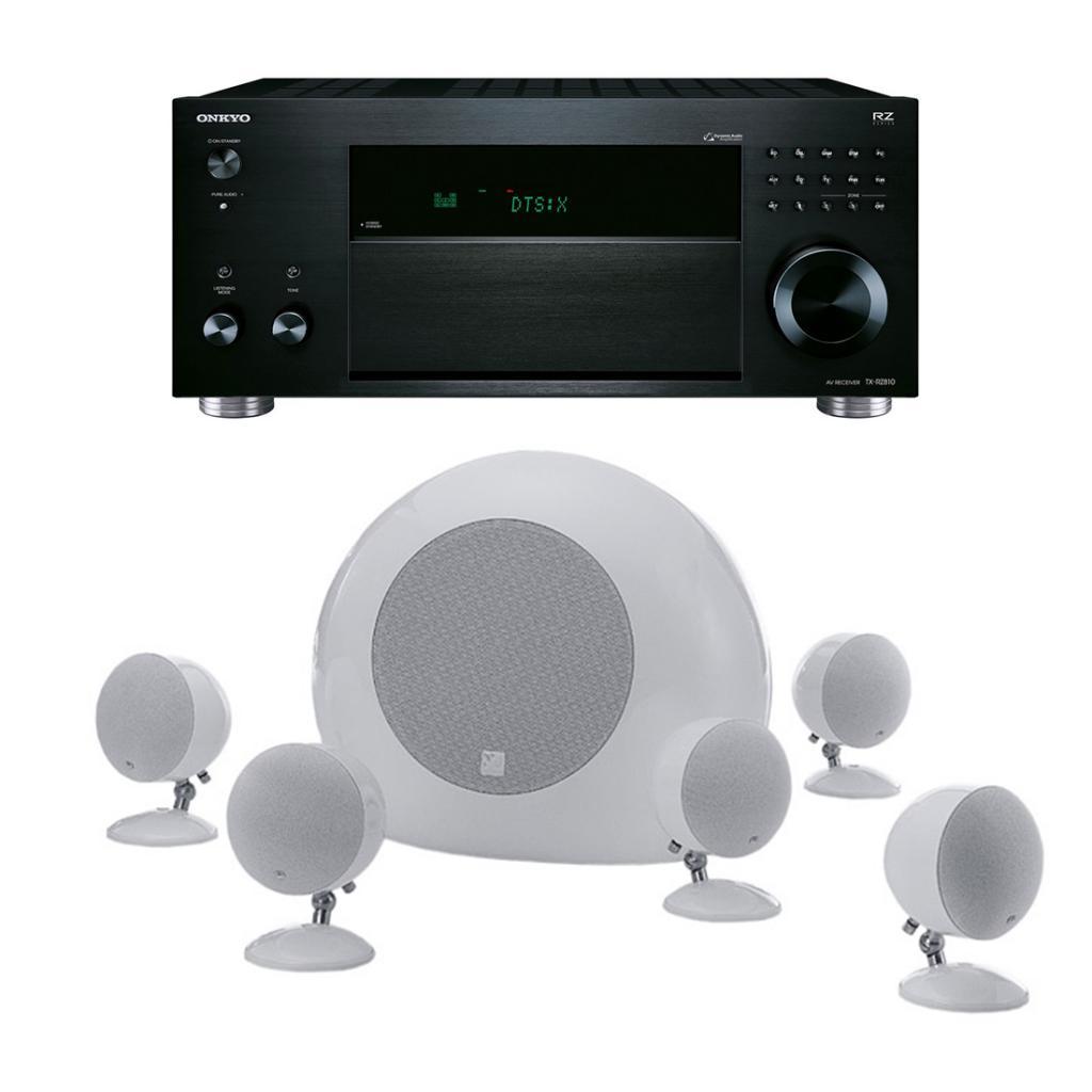 Imagine indisponibila pentru Pachet Receiver AV Onkyo TX-RZ810 + Boxe Morel SoundSpot MT-1