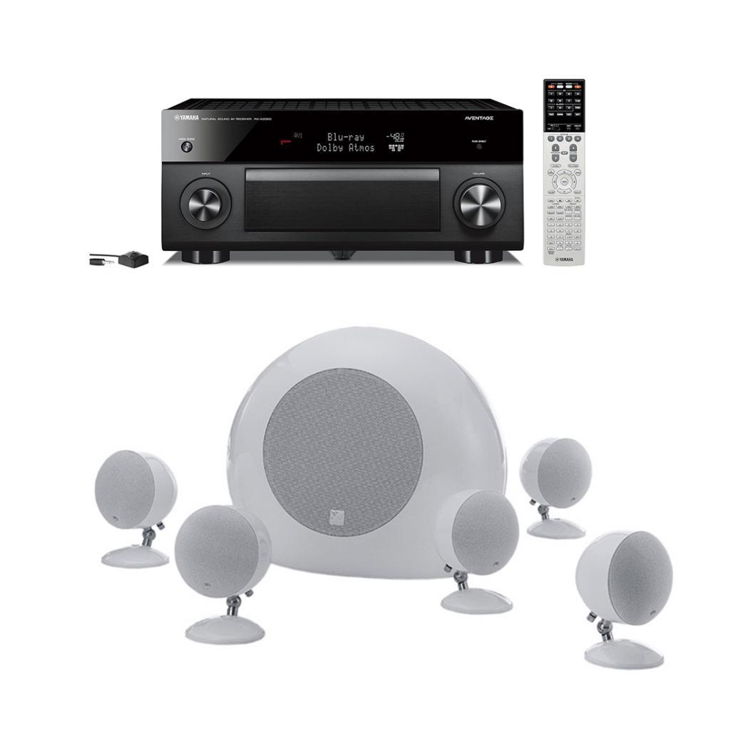 Pachet Receiver Av Yamaha Musiccast Rx-a2060 + Box