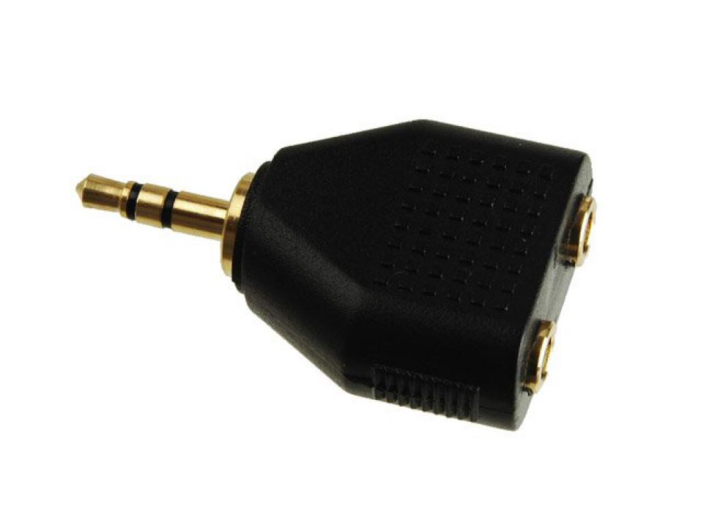 Conector Adaptor Jack 3.5mm Kacsa Audio Aa-634g