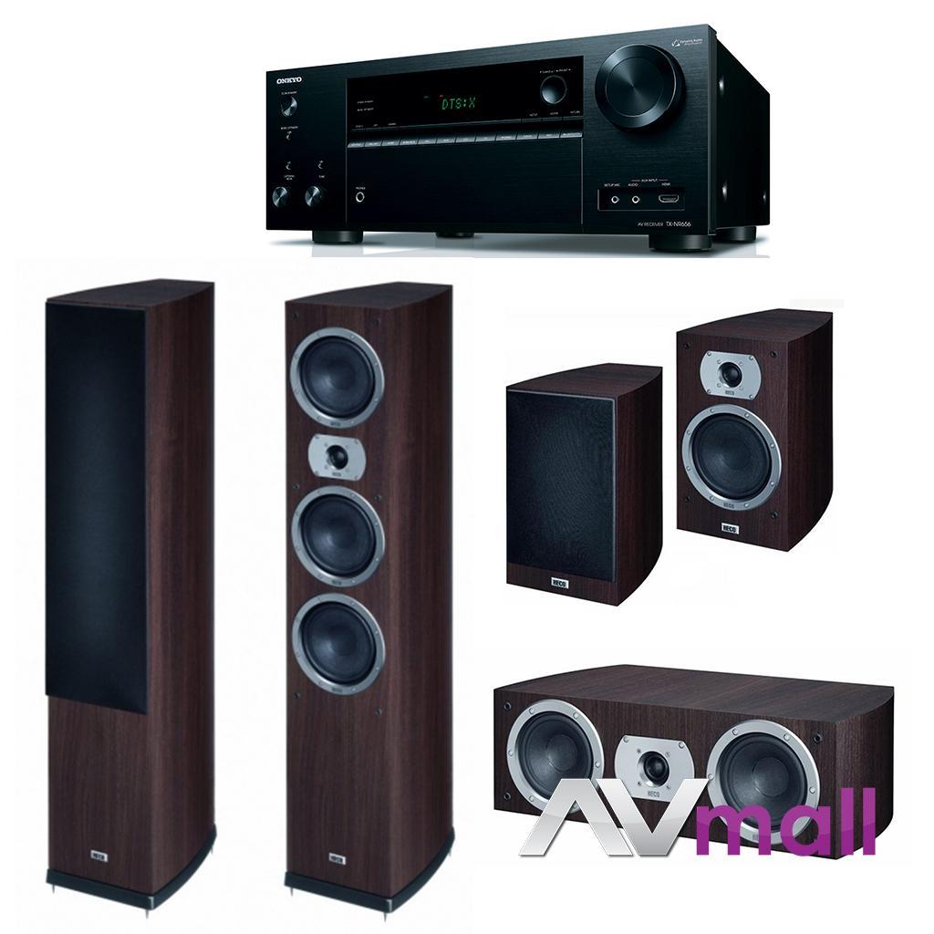 Pachet Receiver AV Onkyo TX-NR656 + Boxe Heco Victa Prime 702 + Boxe Heco Victa Prime 302 + Boxa Heco Victa Prime Center 102